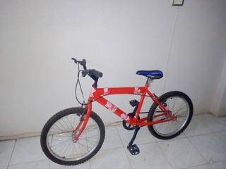 Bicicleta Roja Bimex Nueva