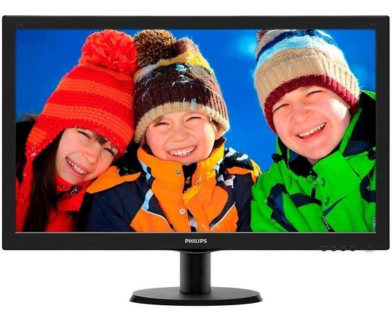 Monitor Philips Led 27 Full Hd Widescreen - 273v5lhab