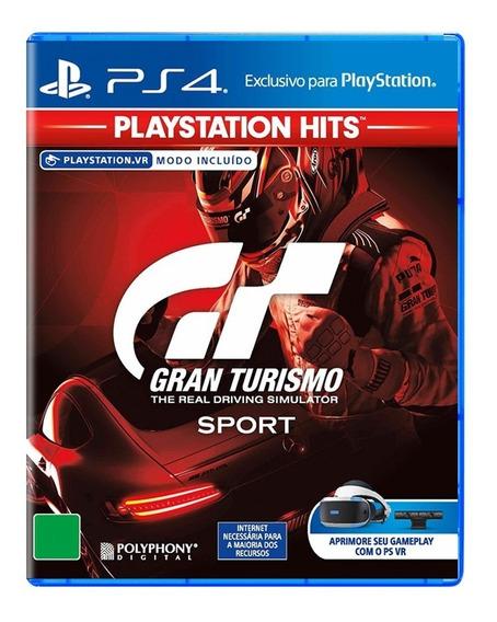 Jogo Playstation 4 Gran Turismo Sport Ps4 Lacrado