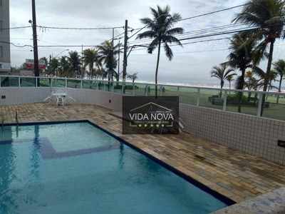 Apartamento Com 2 Dormitórios À Venda, 68 M² Por R$ 220.000 - Vila Mirim - Praia Grande/sp - Ap2906