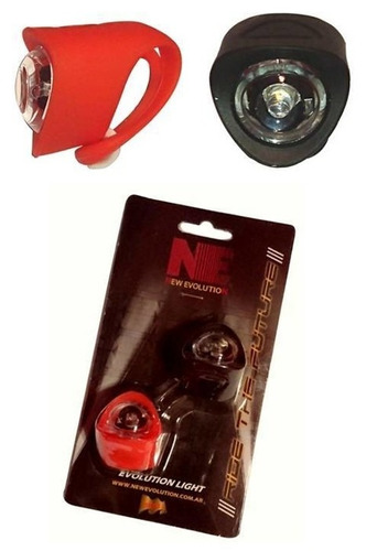 Kit Luces Bicicleta Delantera Trasera New Evolution Ne-705
