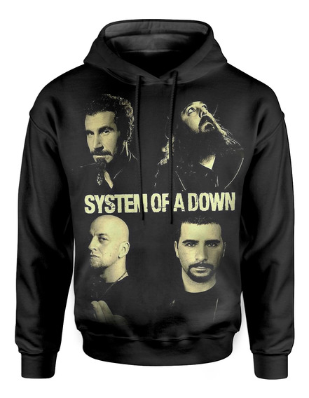 Moletom Com Capuz Unissex System Of A Down Md01
