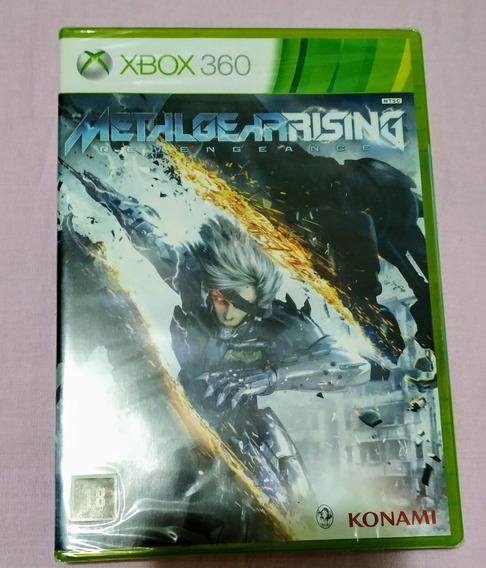 Jogo Metal Gear Rising Xbox360 Lacrado