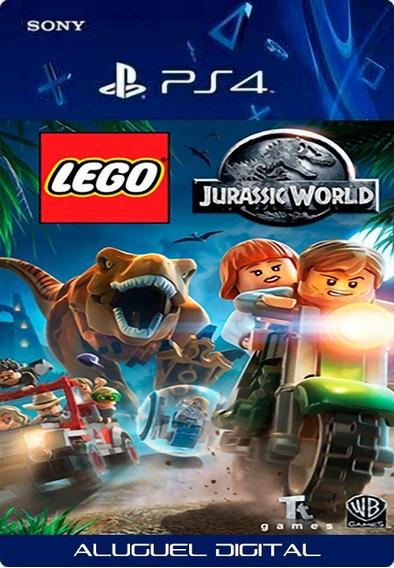 Lego Jurassic World Ps4 User 1 Garantia Vitalícia