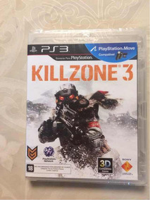 Jogo Ps3 Killzone 3 Lacrado Novo