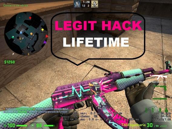 Legit Hack Cs Go / Csgo - Lifetime - Atualizado Diariamente