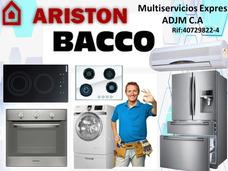 Servicio Técnico Neveras,lavadoras,cocinas Ariston Bacco