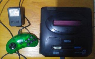 Consola Sega Genesis 16 Bits Mega Drive2 - Joystick Y Juegos