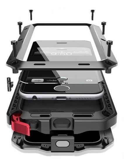 Funda Armor Survivor Samsung S10 S10e S10 Plus + Vidrio Mica