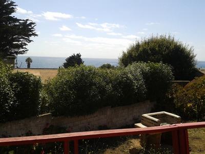 Casa Con Amplio Patio Y Vista Al Mar, A 100 Mts Poza Azul