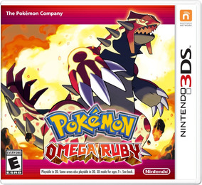 Pokemon Omega Ruby - Mídia Física - Usa - Lacrado