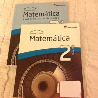 Texto Matematicas 2 Medio Puentes Del Saber Santillana