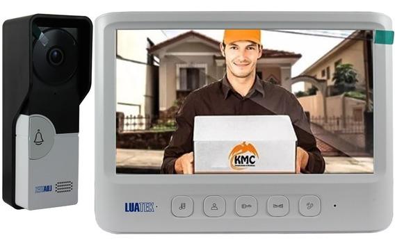 Vídeo Porteiro Câmera Visão Noturna Eletrônico Interfone Cal