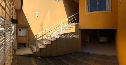 Sobrado Com 3 Dormitórios À Venda, 200 M² Por R$ 800.000,00 - Vila Augusta - Guarulhos/sp - So0084