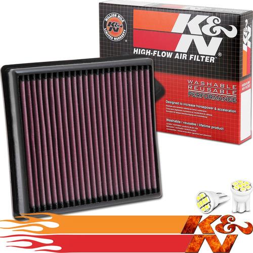 Imagem 1 de 5 de Filtro De Ar K&n Ken 33-2990 Bmw 116i 118i 120i M125i Turbo