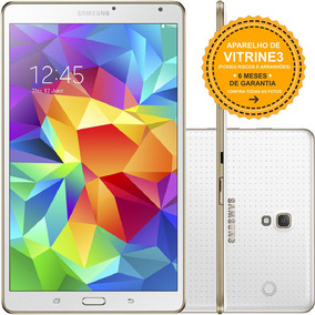 Tablet Samsung Galaxy Tab S T705m 16gb 3gb Branco Vitrine 3