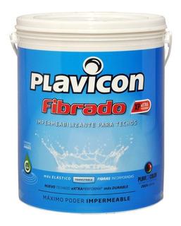 Plavicon Fibrado Impermeabilizante Para Techos 20kg Rex