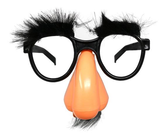 Gafas De Disfraz De Esqueleto Con Nariz - Gafas Groucho Marx