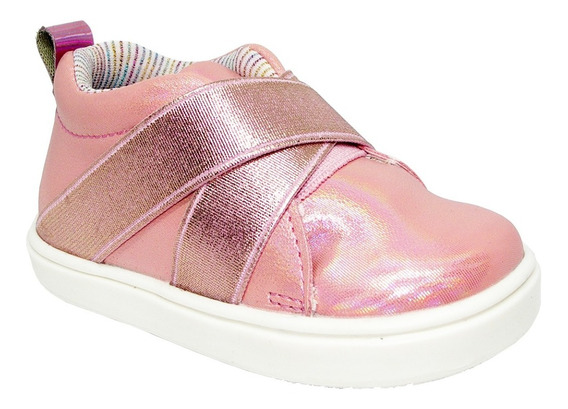 Tenis Mini Burbujas Para Niñas 46721 #12 Al 17 Color Rosa R