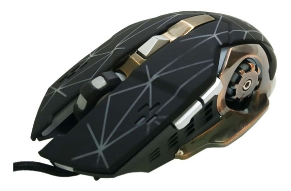 Mouse Gamer Profissional Xtrad Xd-x9 Fpd Moba Mmo Rpg Rápido