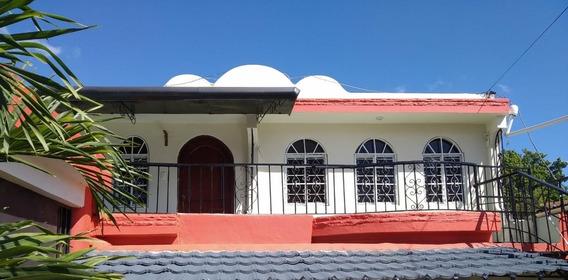 Casa Segundo Nivel En Gurabo Santiago Ruta G 3 Hab Y 2 Baños