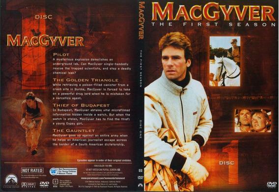 Mcgyver Profissão Perigo - 1ª E 2ª Temporadas Completas