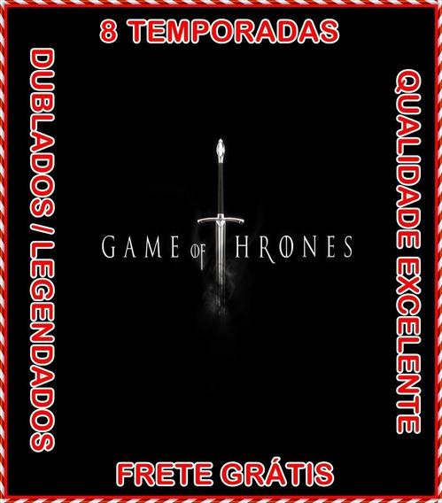 Game Of Thrones Serie (1ª Até 8ª Temporada) + Frete Grátis
