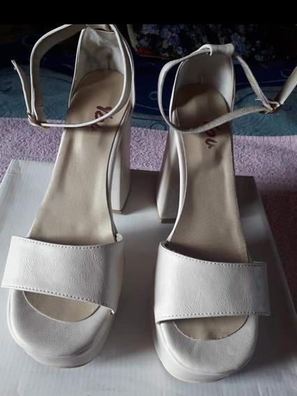 Zapato Taco Palo