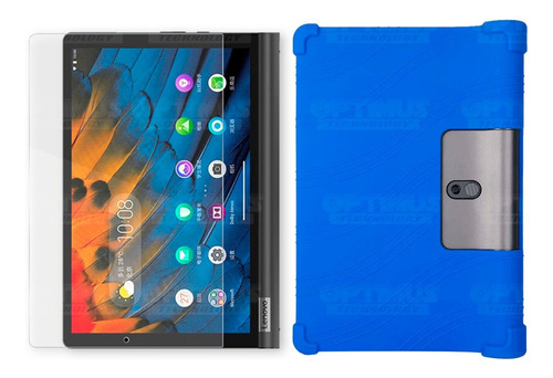 Vidrio Y Forro Tablet Lenovo Yoga Smart Tab Yt-x 705f Antigo