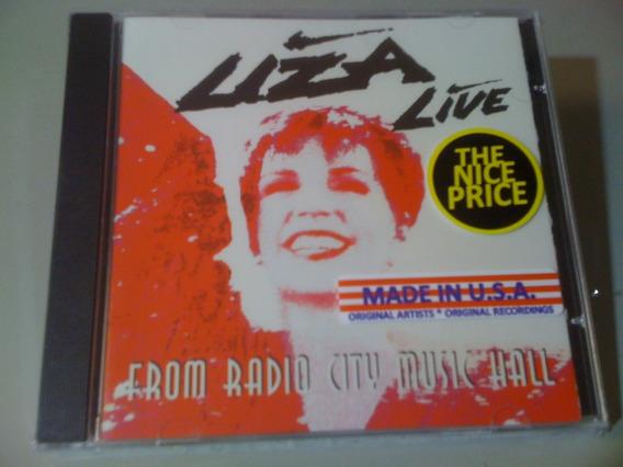 Liza Minnelli Live From Radio City Cd Lacrado U.s.a Importad