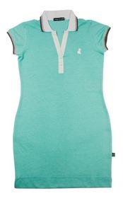 Vestido Polo Sport Casual Tamanhos Pp Ao Plus Size G1,2,3,4