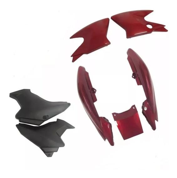 Kit Carenagem Com Aba Etampa Ybr Factor 125 Ano 2009 A 2012