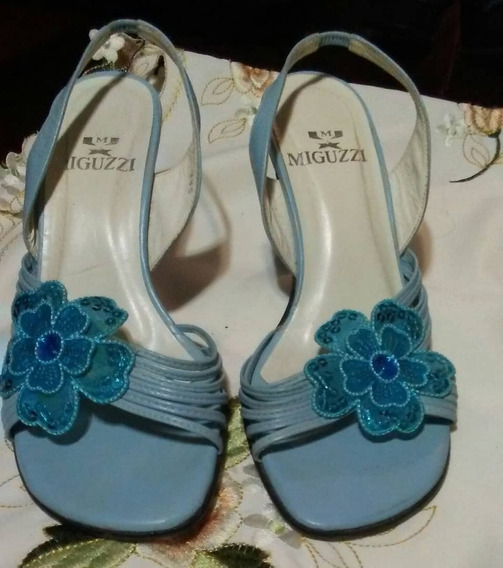 Tacones Miguzzi 35 Sandalias