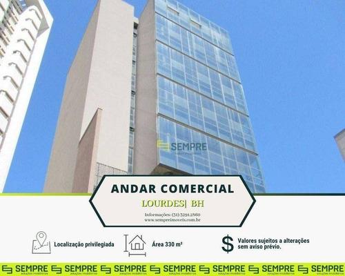 Imagem 1 de 21 de Andar Corporativo À Venda, 330 M² E 07 Vagas - Lourdes - Belo Horizonte/mg - Ac0115