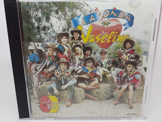 Cd La Onda Vaselina La Banda Rock Edicion Univision 2004
