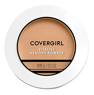 Covergirl Medium Beige Polvo Compacto Vitalist Healthy Powde