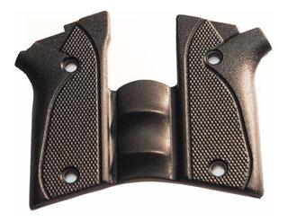 Empunhadura Borracha Para Pistola Pt938/940/957/915 C/ Desar