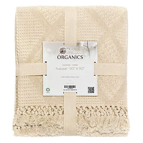 Manta De Algodón Orgánico Whisper Organics De Gots Cert