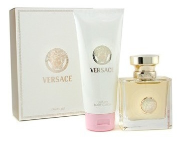 Kit Perfume Versace Pour Femme 50ml+ Hidratante 100ml