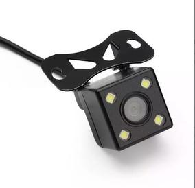 Camera De Ré Universal Visão Noturna Colorida Carro Ou Teto