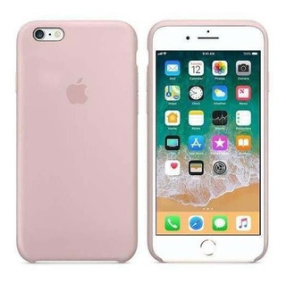 Capa Original Apple Para iPhone 6 / 6s Apple - Rosa Areia