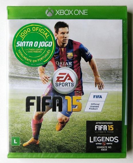 Jogo Fifa 15 Xbox One - Mídia Física - Novo Lacrado