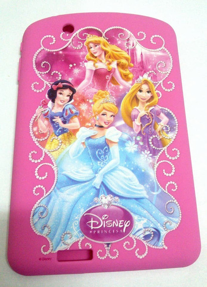 Capa Para Tablet Tectoy Princesas Tt5300i