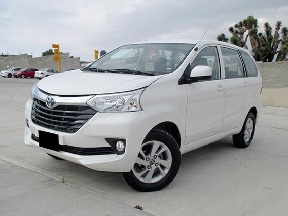 Toyota Avanza Xle Ta 2017 Blanco