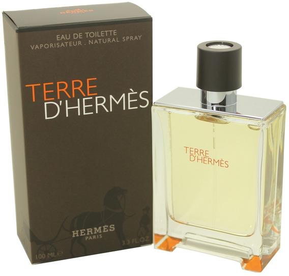 Perfume Masculino Terre D´hermès Edt 100ml Importado + Nota Fiscal