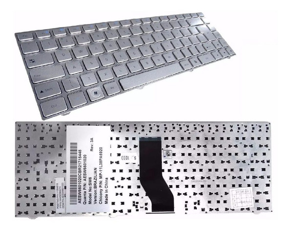 Teclado Original Para Notebook Positivo Premium N9380 N9250