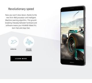 Huawei Mate 9 Telfono Nos Preto