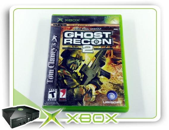 Tom Clancys Ghost Recon 2 Original Xbox Clássico Ntsc