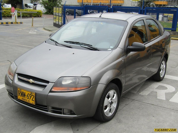 Chevrolet Aveo Sedan 1.600 Mt Aa