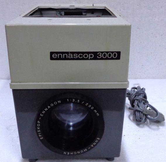Projetor Ennascop 3000 Type 8007 Episkop Ano 1970 Usado